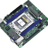 ASRock Rack ROMED4ID-2T: Placa base en formato Deep Mini-ITX para CPUs AMD EPYC