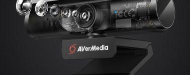 AVermedia Live Streamer CAM 513: Webcam con un sensor Sony 4K para streamers