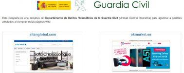La Guardia Civil cierra las tiendas OkMarket y Alianglobal, se busca a los usuarios estafados