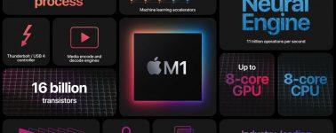El Apple M1X ya está en camino, y ofrecería una configuración de 12 núcleos (8x Firestorm + 4x Thunder)