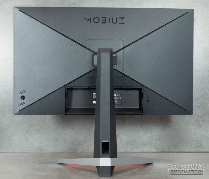 BenQ Mobiuz EX2710 - Vista posterior
