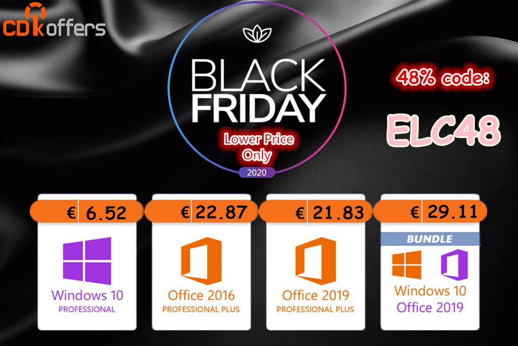 Aprovecha el Black Friday y llévate Windows 10 desde 5,35€; Windows 10 LTSC por 7,68€