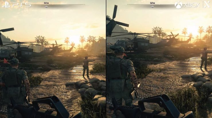 Black Ops Cold War en PlayStation 5 vs Xbox Series X