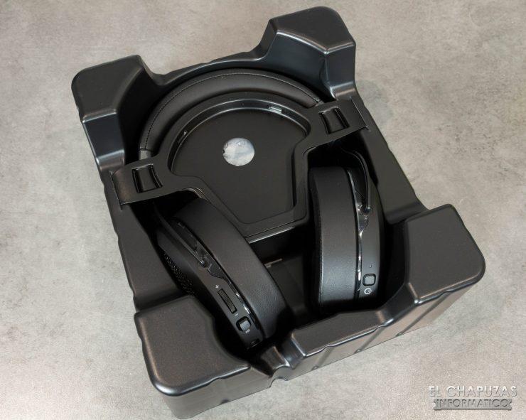 Corsair HS70 Bluetooth - Embalaje interior
