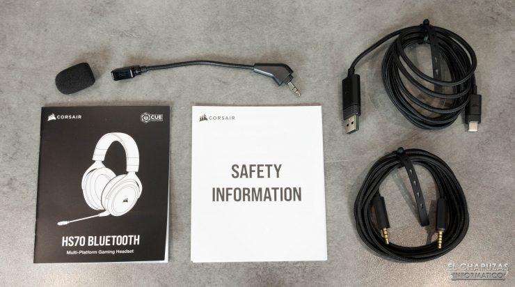 Corsair HS70 Bluetooth - Accesorios