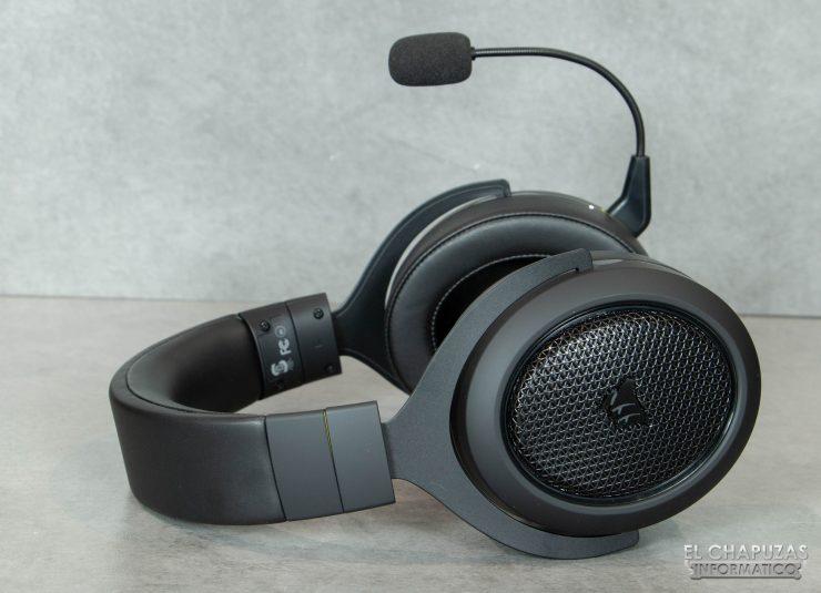 Corsair HS70 Bluetooth - Diadema y cúpulas