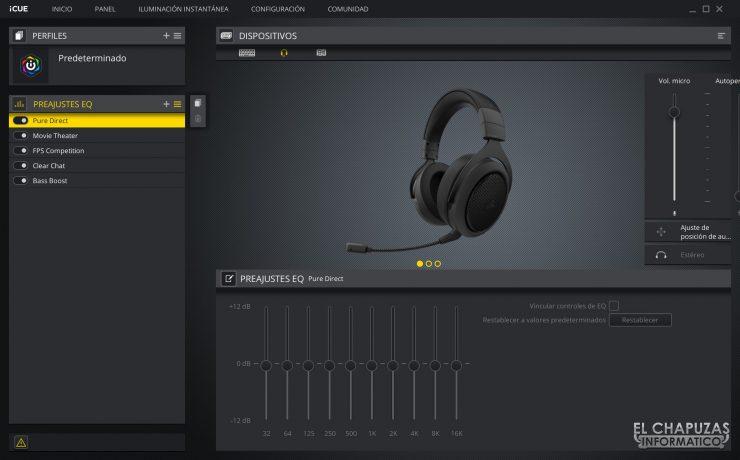 Corsair HS70 Bluetooth - Software