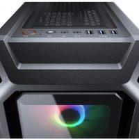Cougar MX440-G RGB: Semitorre que toma el nombre prestado de una GPU clásica de Nvidia