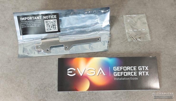 EVGA GeForce RTX 3080 FTW3 Ultra - Accesorios