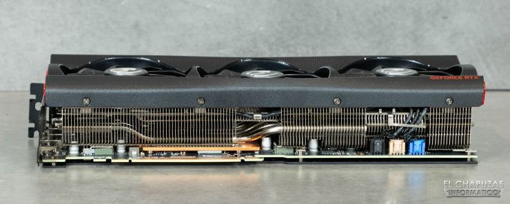 EVGA GeForce RTX 3080 FTW3 Ultra - Lateral PCIe