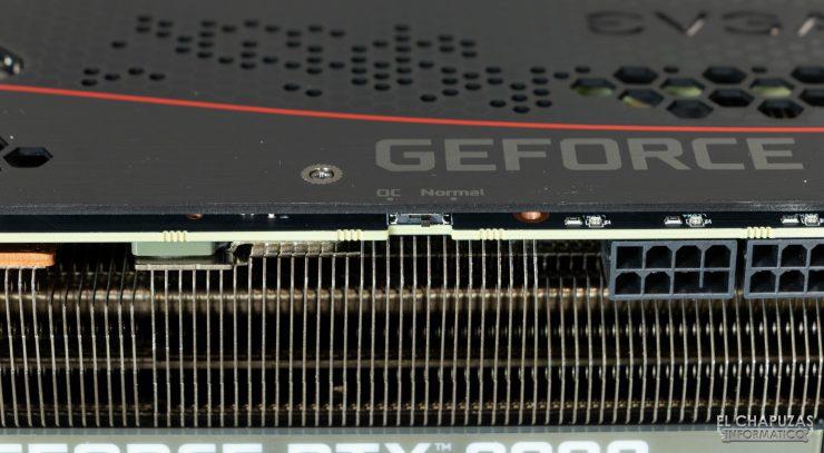 EVGA GeForce RTX 3080 FTW3 Ultra - Interruptor Dual BIOS