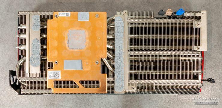 EVGA GeForce RTX 3080 FTW3 Ultra - Disipador desmontado