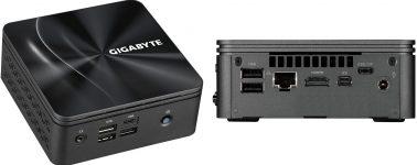 Gigabyte BRIX S: Nueva línea de Mini-PCs con APUs AMD Ryzen 4000U