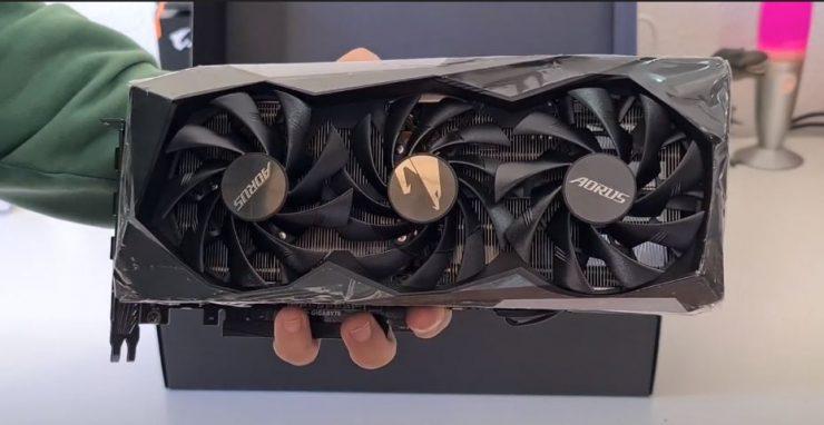 GeForce RTX 3060 Ti AORUS MASTER