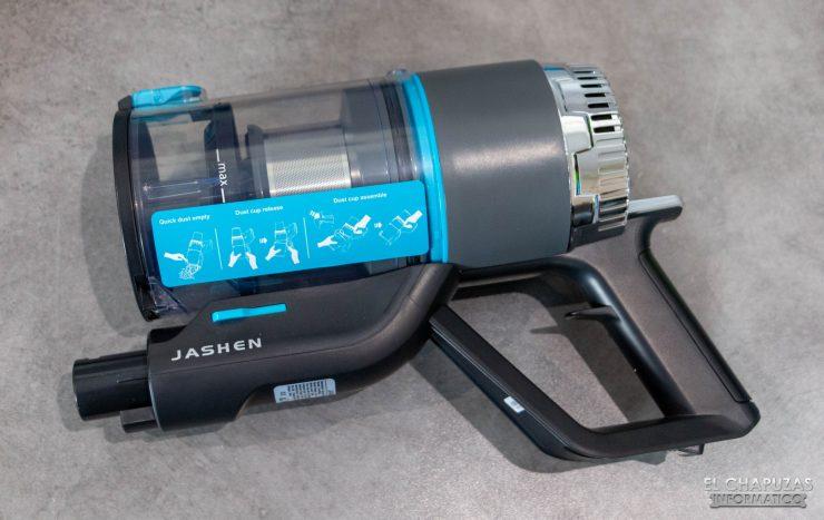 Jashen V18 - Motor y depósito