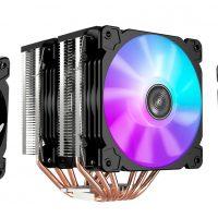 Jonsbo CR-2100: Disipador CPU de alto rendimiento con 6x heatpipes de cobre