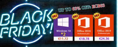Aprovecha la oferta de Black Friday y llévate Windows 10 desde 5,43 euros