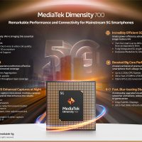 MediaTek Dimensity 700: SoC de gama media @ 7nm con conectividad 5G
