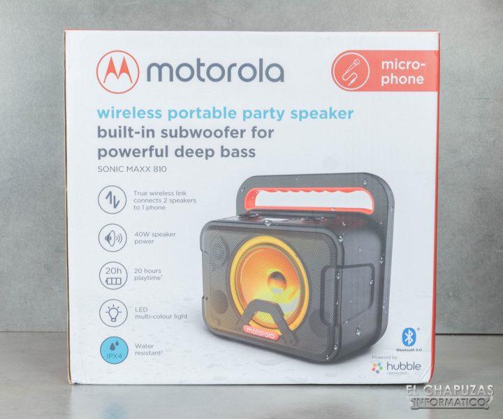 Motorola Sonic Maxx 810 - Embalaje 1