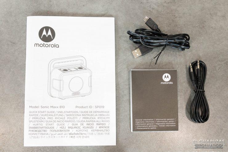 Motorola Sonic Maxx 810 - Accesorios