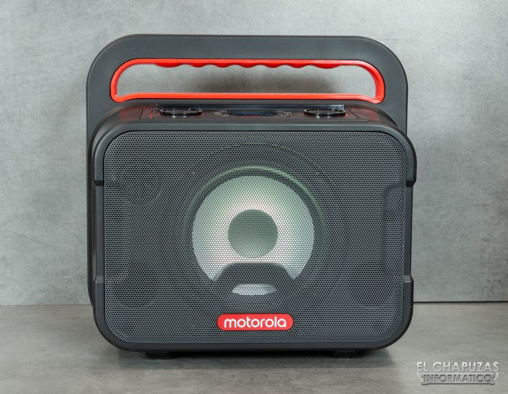 Motorola Sonic Maxx 810 - Vista frontal