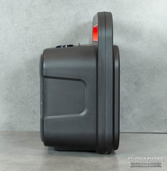 Motorola Sonic Maxx 810 - Vista lateral izquierdo