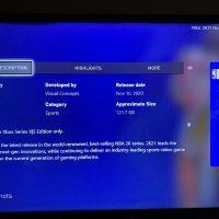 NBA 2K21 ocupa más de 120GB de espacio en la Xbox Series X