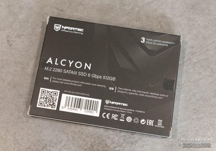Nfortec Alcyon - Embalaje trasero