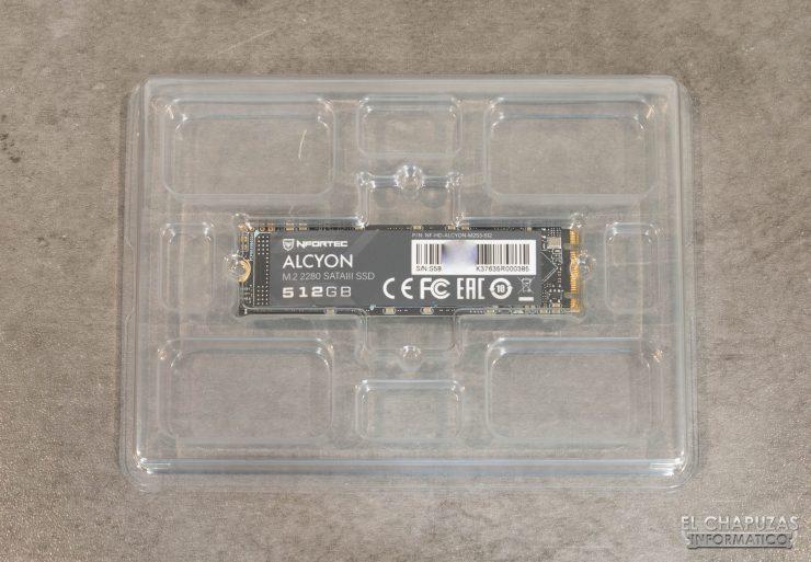 Nfortec Alcyon - Embalaje interior