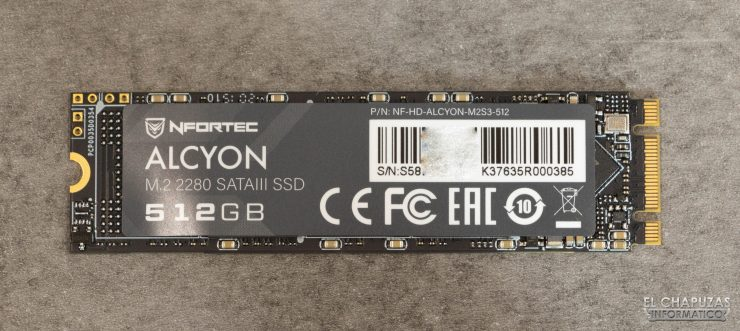 Nfortec Alcyon - Frontal