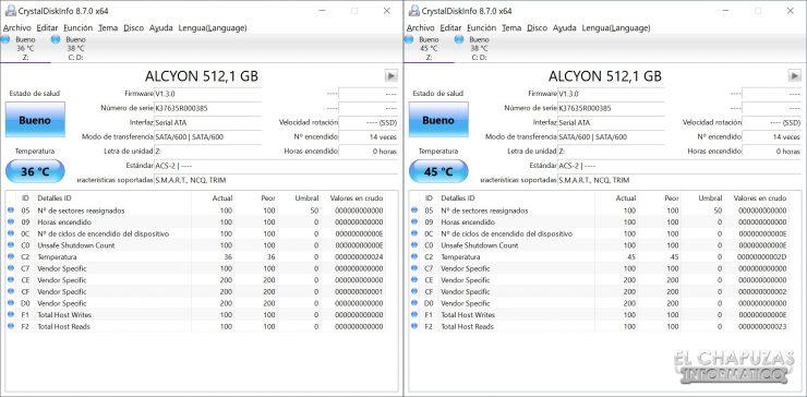 Nfortec Alcyon - Pruebas 2