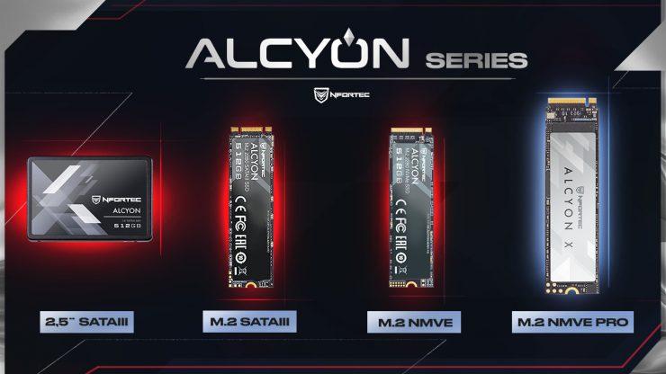 SSDs Nfortec Alcyon