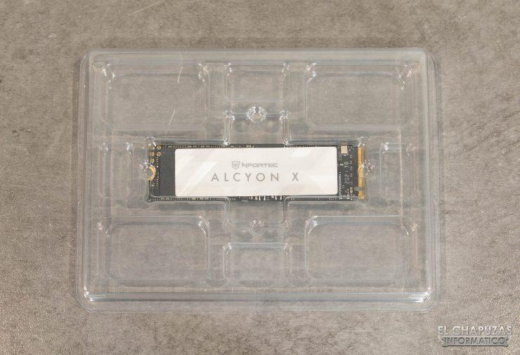 Nfortec Alcyon X - Embalaje interno