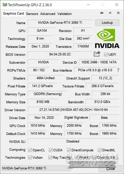 Nvidia GeForce RTX 3060 Ti Founders Edition 23 430x600 92