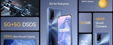 Realme 7 5G: 6.5″ FHD+ @ 120 Hz, Dimensity 800U y batería de 5000 mAh por 229€