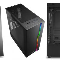 Sharkoon RGB Slider: Semitorre ATX sencilla a un precio de 39,90 euros