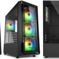 Sharkoon SK3 RGB y TK4 RGB: Semitorres con ventiladores ARGB a precio de derribo