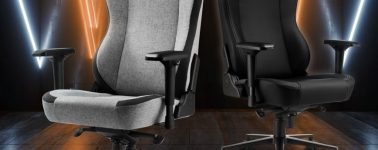 Sharkoon SKILLER SGS40: Silla gaming con un asiento extra grande