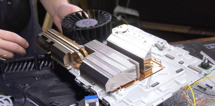 Sistema de refrigeracion de la PlayStation 5