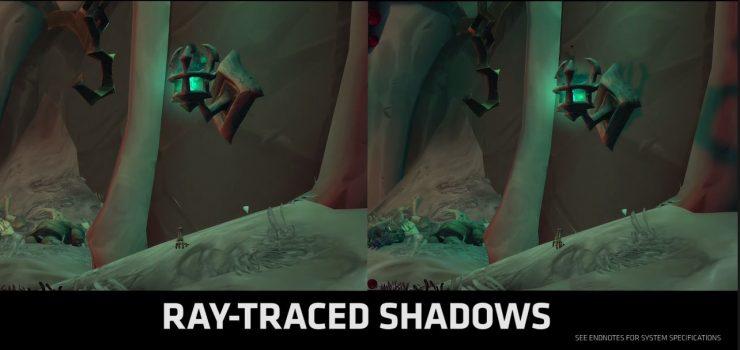 Sombras por RayTracing en World of Warcraft: Shadowlands