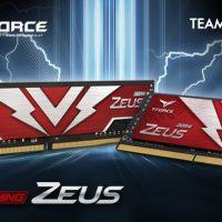 T-Force anuncia el lanzamiento de su memoria RAM DDR4 ZEUS @ 3200 MHz