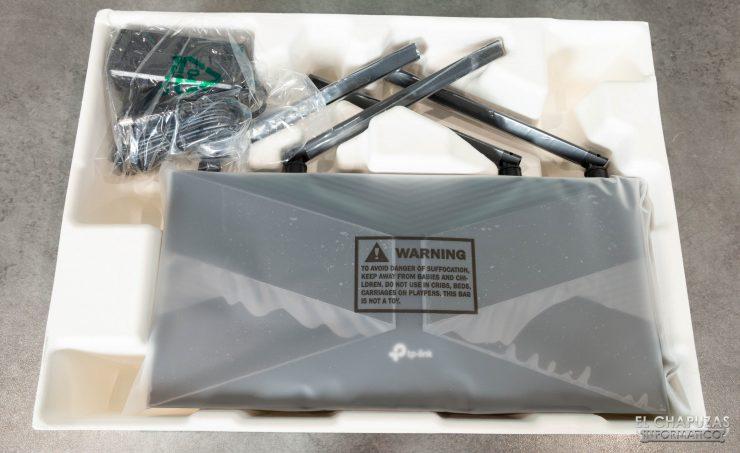 TP-Link Archer AX50 - Embalaje interno