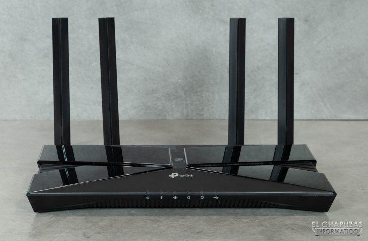 TP-Link Archer AX50 - Vista frontal