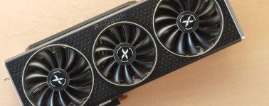 La XFX Radeon RX 6800 XT Speedster Merc 319 posa ante la cámara