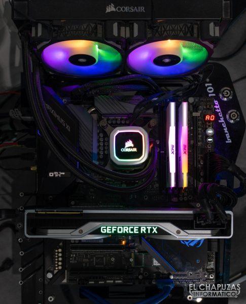 XPG Spectrix D50 - Equipo de pruebas