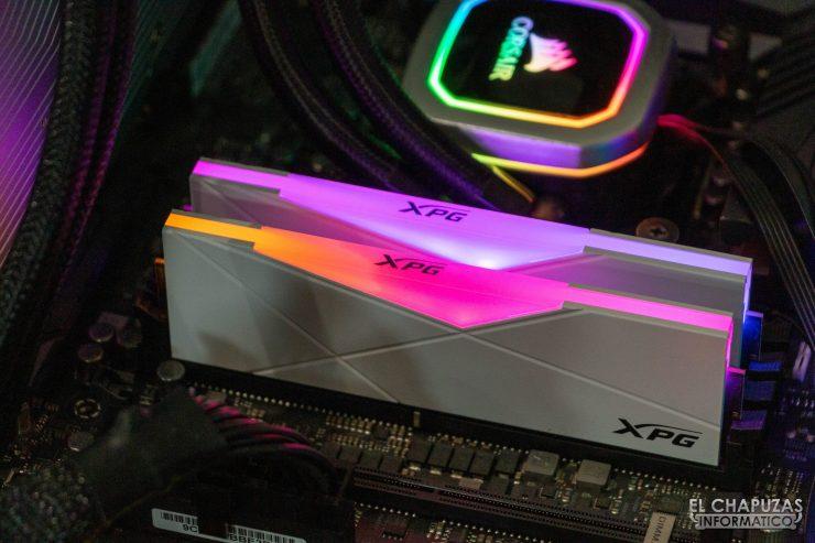 XPG Spectrix D50 - Encendidas