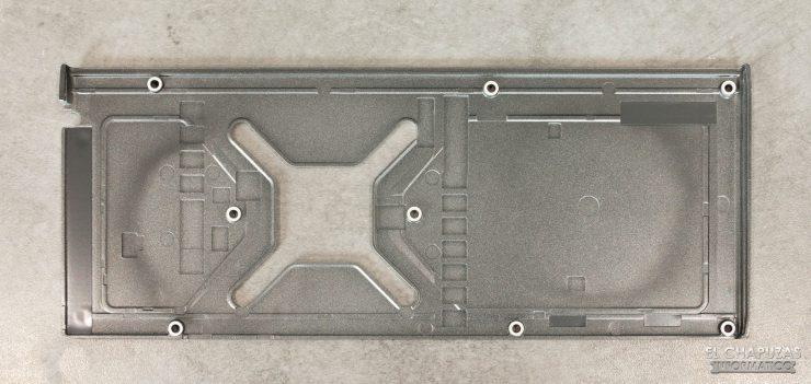 AMD Radeon RX 6900 XT - Backplate desmontado