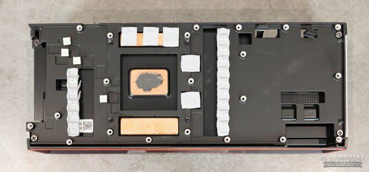 AMD Radeon RX 6900 XT - Disipador desmontado
