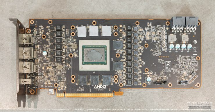AMD Radeon RX 6900 XT - PCB