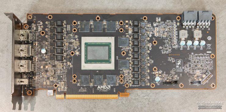 AMD Radeon RX 6900 XT - PCB limpio